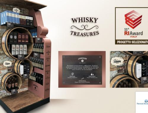 PERNOD RICARD ITALIA Espositore durevole Whisky Treasures